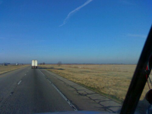 """""""Don't think we're in Haywood County anymore,"""" said Jimmy Crocker of the straight highway and big blue sky in Texas."""