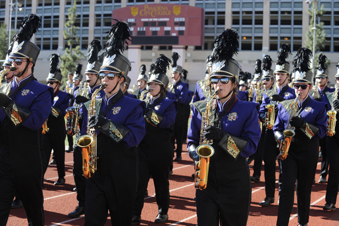 The WCU band performed at Bandfest, which was held Dec. 30 at Pasadena College.