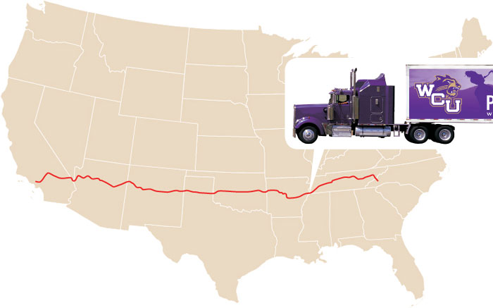 The band trucks made it to Memphis, Tenn., about 3 p.m. Dec. 26.